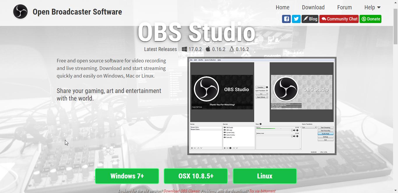 short tutorial on OBS Studio
